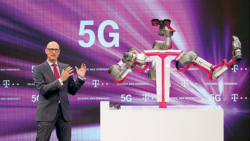 全球瘋5G!今年德國論壇也在熱議5G,郭台銘4 年前便提早布局,指出旗下台揚將占有地位。