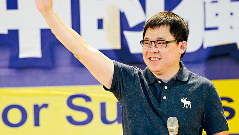 星宇航空創辦人張國煒(圖)14日應邀公開演講,強調要用200%力氣,打造台灣的阿聯酋航空。