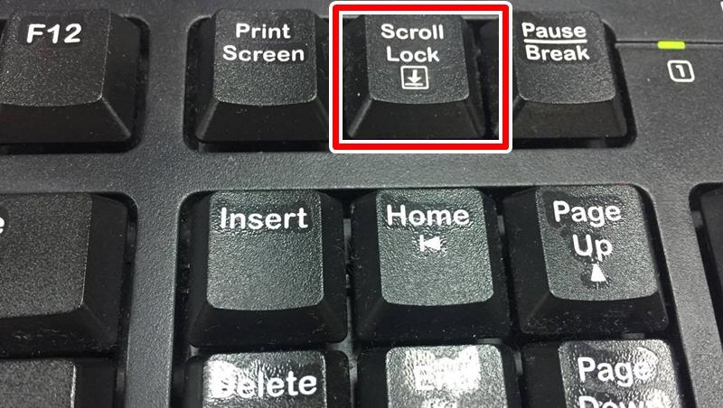 電腦史中的神秘事件:鍵盤右上方的Scroll Lock鍵到底可以拿來幹嘛?