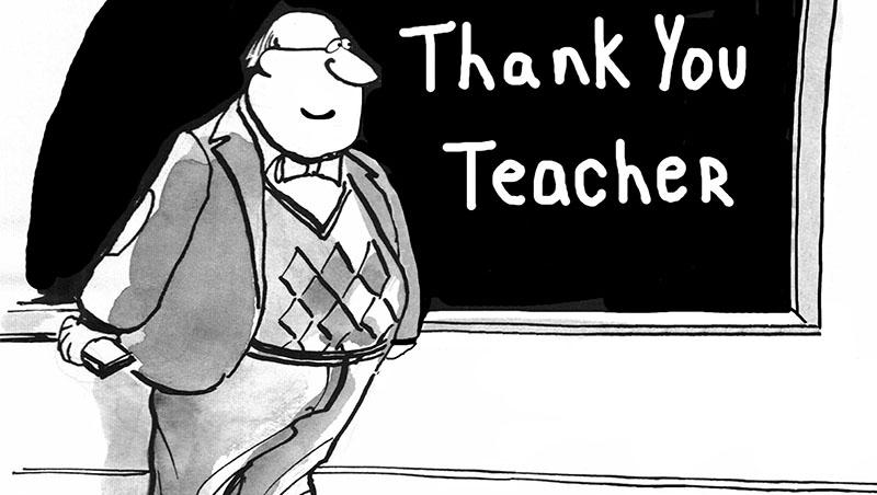 浮誇的感謝跟卡片,不如讓老師放一天假吧!教師並不神聖,但需要被尊重專業