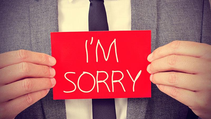 從不犯錯是可疑的,犯錯不認錯是可悲的!一個會跟學生認錯的老師,教你一堂道歉課