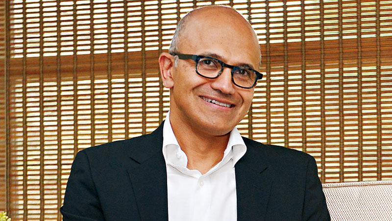納德拉是微軟企業史上第三位執行長