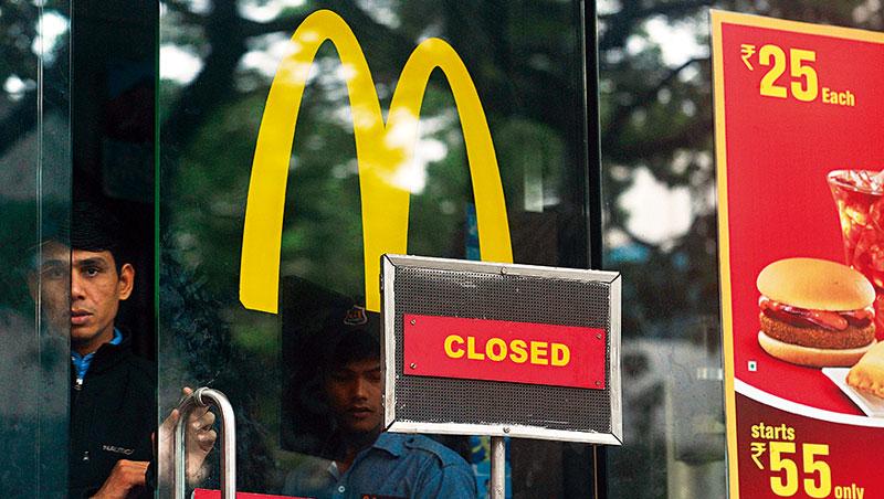 麥當勞槓印度大亨 斷糧逼收169家加盟店