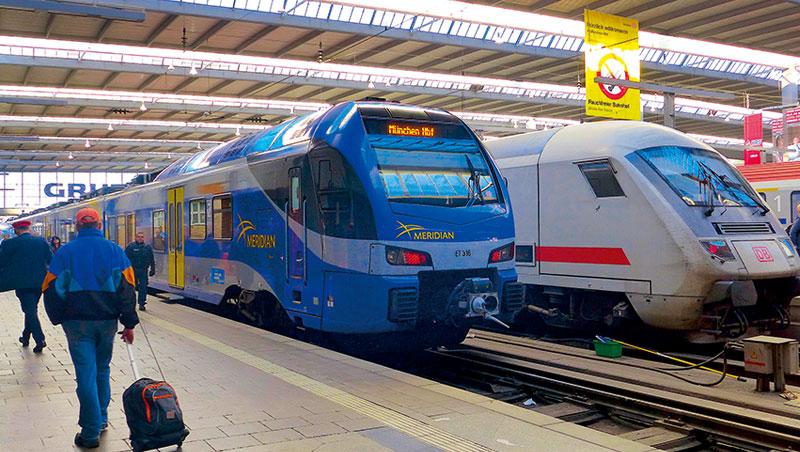 申根簽證實施後,歐洲各國間的鐵路交通更便捷,費用相對機票也更便宜了。