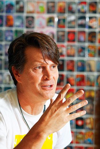 被稱為「寶可夢GO之父」 的創辦人兼執行長約翰.漢基(John Hanke)