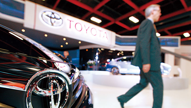 豐田的大型房車Camry下一代將改採進口,讓台灣國產車的市占率再蒙陰影。