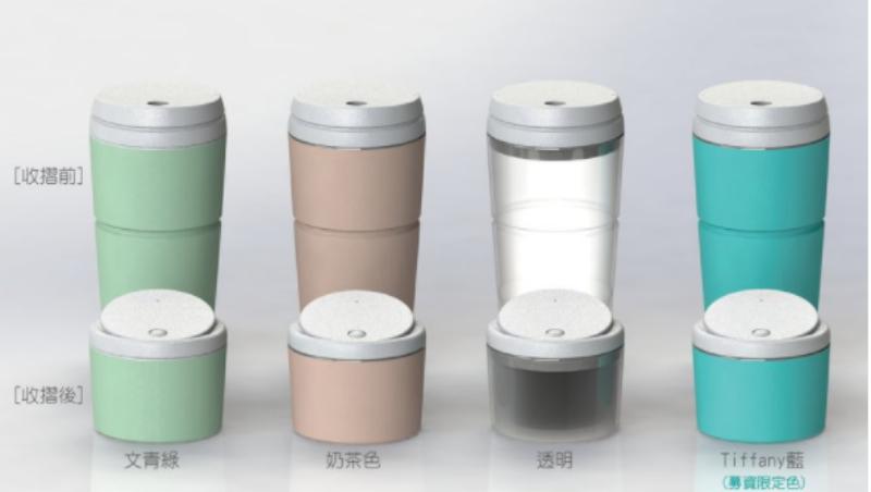 買手搖飲料也能變「環保英雄」!這個環保杯,能折疊、耐高溫,2個月讓5000人掏錢募資破千萬