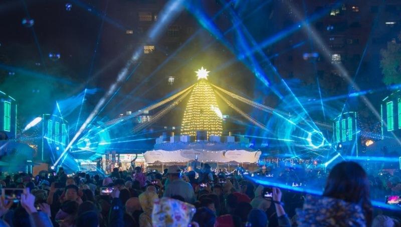 絢爛耶誕跨年 燈火點亮新北城市形象