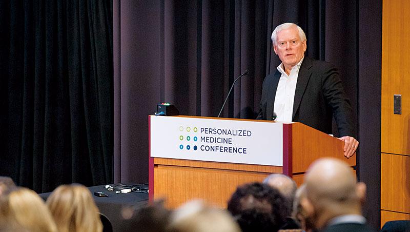 全球基因檢測設備龍頭illumina董事長傅來特利(圖)提出,解碼腸道菌叢基因,將對癌症治療帶來重要突破。