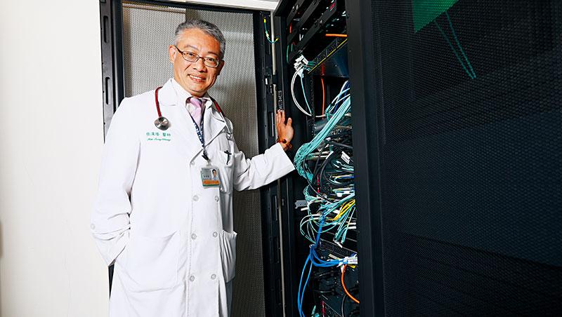 他協助「翻譯」做出好用AI_張漢隆能用資訊與醫療專業雙語溝通