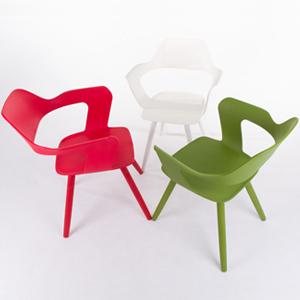 MUSE沐司椅_塑膠腳系列 (共三色) 【兩張合購方案】