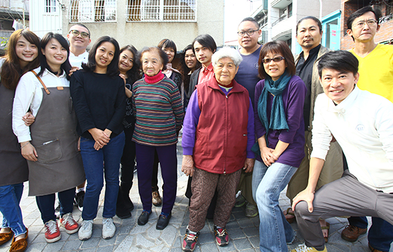 台南正興街的幸福革命
