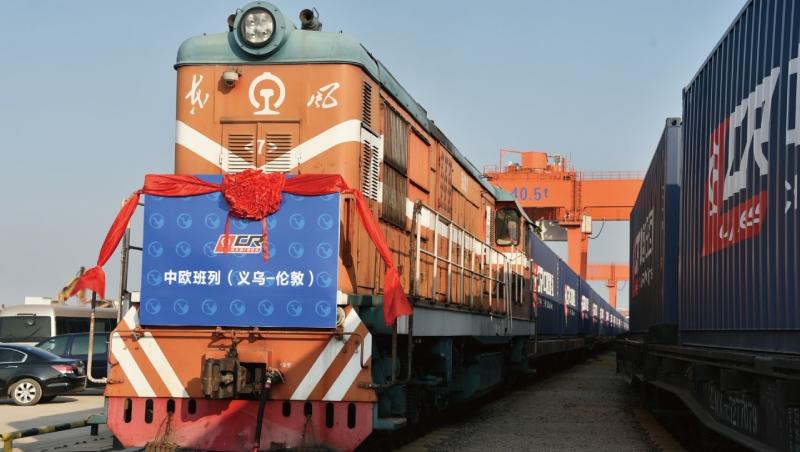 中國浙江直達倫敦貨運火車開通》這18天旅程,將改變600年來的全球貿易