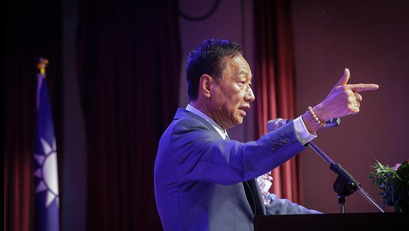 郭台銘正式退出國民黨!發聲明打臉國民黨大老,稱「不會眷戀這個政黨」