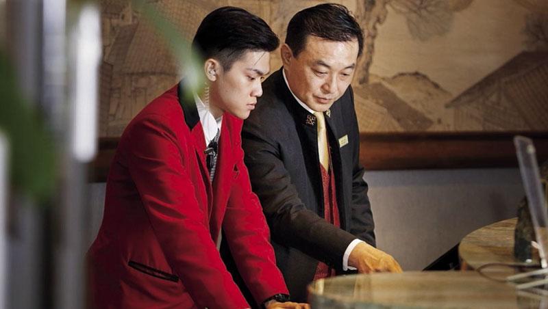 香格里拉台北遠東國際大飯店服務中心經理 鍾小淋