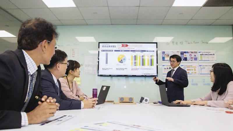 北富銀透過數據分析會議隨時調整策略,也因開放Line線上辦卡,線上接觸點調查填答率提高5個百分點。