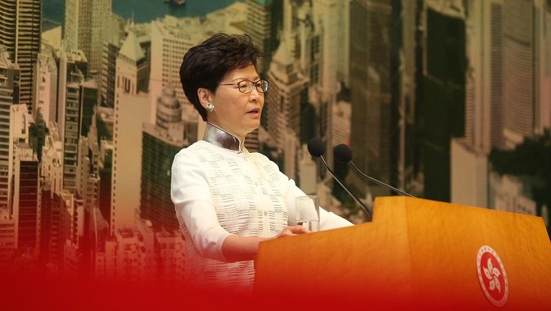 林鄭:撤回修訂「逃犯條例」4點行動回應訴求