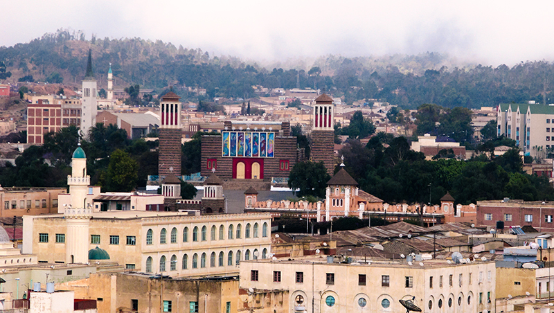 厄利垂亞的首都阿斯瑪拉,是被聯合國教科文組織列為世界遺產的重要觀光景點。