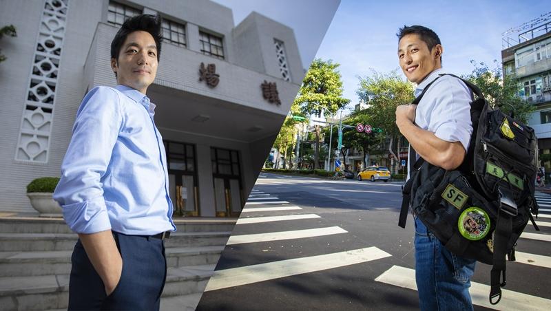 蔣萬安(左)、吳怡農(右)