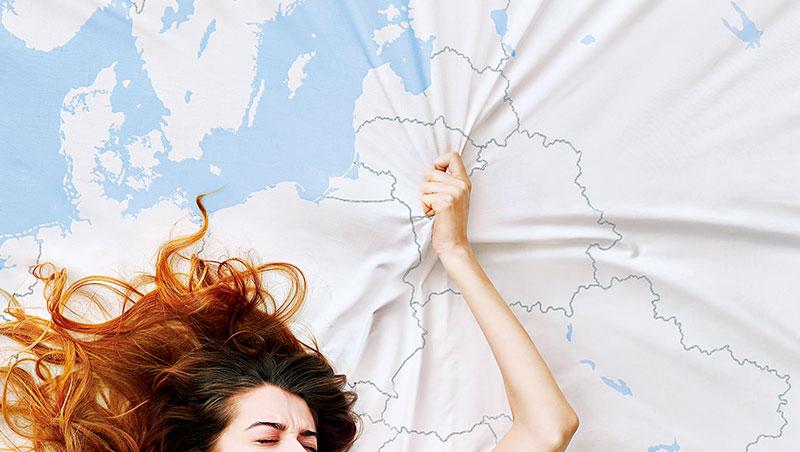 這張「歐洲G點」海報主打18至35歲的客層,而且僅展示一週。事實證明效果強大,立陶宛首都維爾紐斯名利雙收。