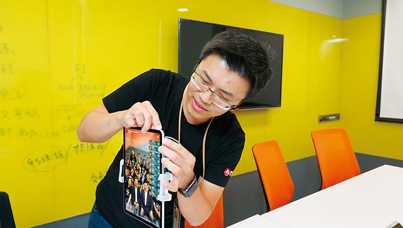 中信團隊研發刷臉技術,搶先在金融科技展用刷臉支付、取餐、領錢讓大家體驗。