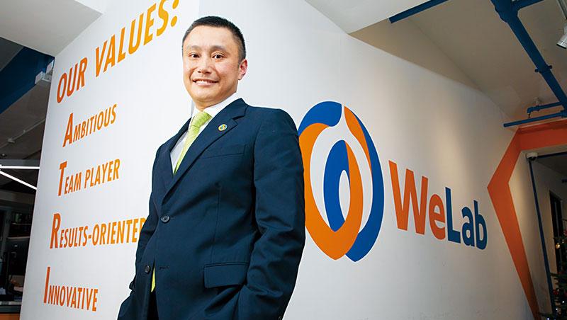 龍沛智離開渣打創辦WeLab,他說:「創業失敗可以回銀行;成功了,機會就無窮無盡。」