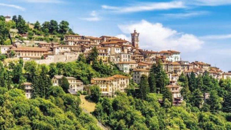 據統計,每天有67,800名義大利人往返瑞士通勤,但領的是義大利水準的薪資,好比義、瑞邊界的瓦雷澤(圖)等小省。