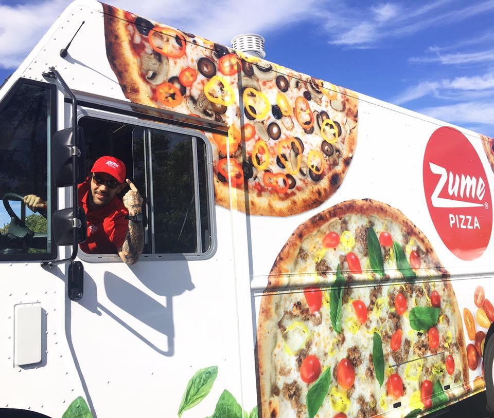 Zume Pizza最為人知的服務就是他們的移動機器人廚房The Zume Truck。