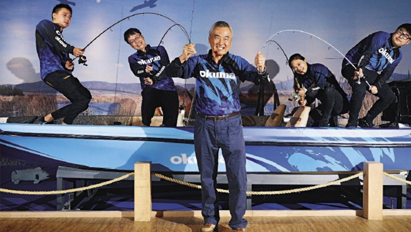 張良任斥資1億,在台中潭子成立「寶熊漁樂碼頭」,推廣釣魚文化。