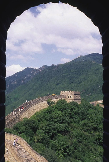 中國萬里長城符合世遺五項標準