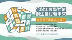 【108年農學共創-創生農村新未來】成果電子書正式上線了
