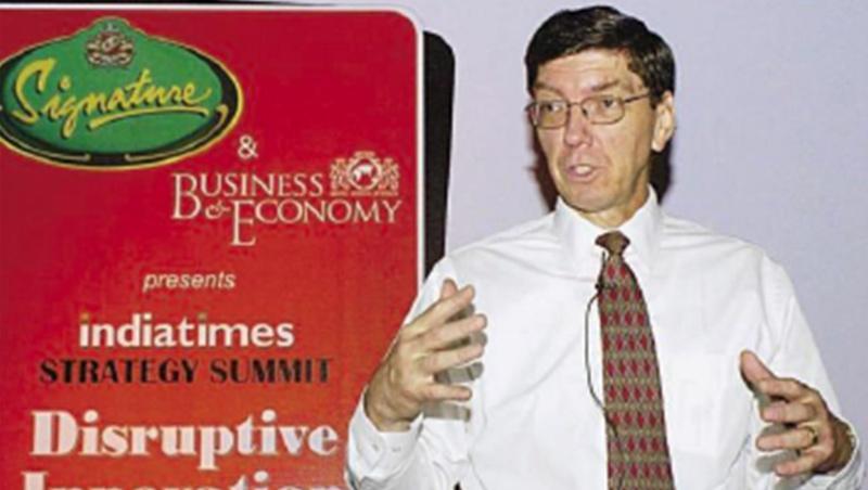 克里斯汀生提出「創新的兩難」,兩度獲全球50大管理思想家。