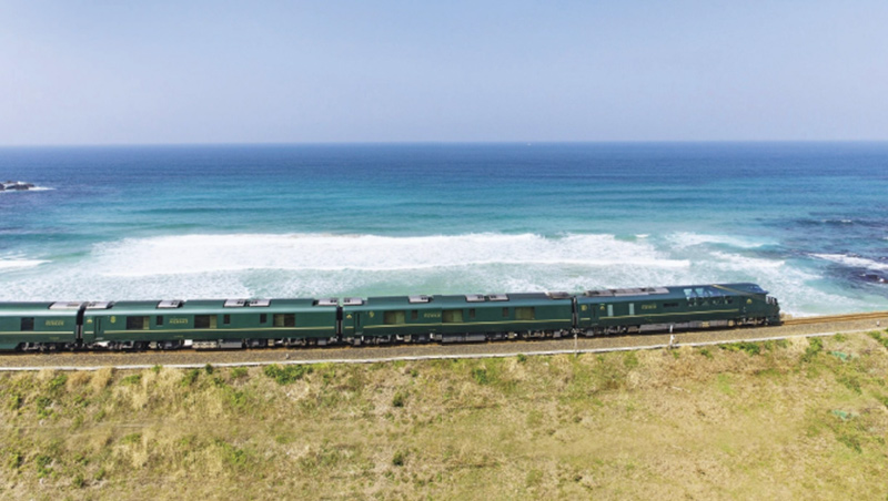 TWILIGHT EXPRESS瑞風列車