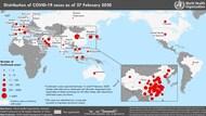 世衛公布病毒擴散至中國以外44國,可能全球大流行