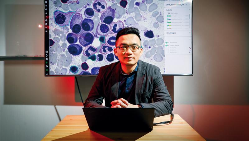 今年39歲的葉肇元,捨醫師之路當起工程師,懂得雙邊領域專業語言和技術,成了他投入醫療AI最強核心競爭力。