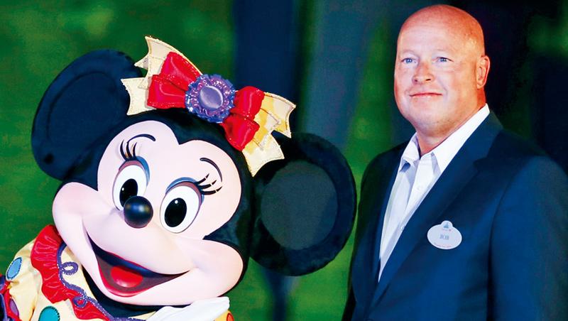 迪士尼執行長:查博克