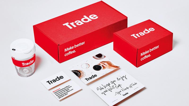 Trade Coffee販售全美各地的咖啡,透過線上測驗、咖啡配對的選物形式,讓顧客可以接觸來自不同咖啡商的產品。