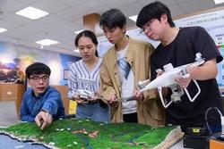 健行科技大學3D建模團隊 重現淘金小鎮風華 為老礦工生命記憶說故事