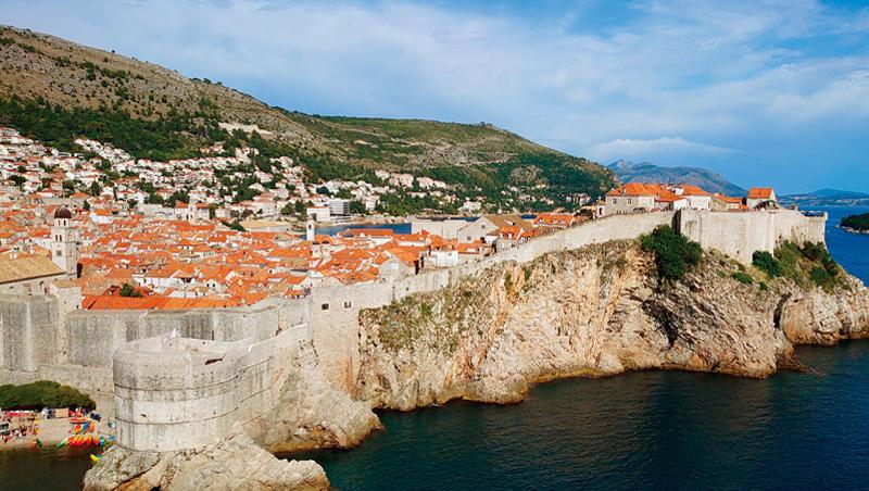 克羅埃西亞杜布洛尼克近年已成為南歐熱門旅遊點。