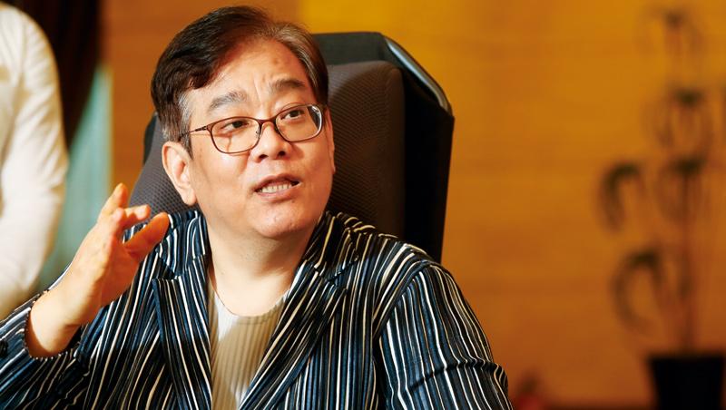 吳珅篁談起地產平台時說,現今的社會都是合作才有好結果,惡性循環、互相傷害的經營方式,已經沒有競爭力了。