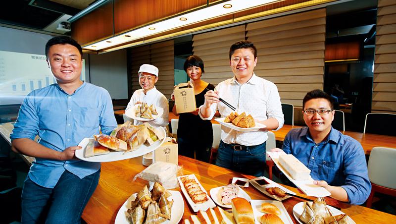 饗賓總經理:陳毅航(右2)
