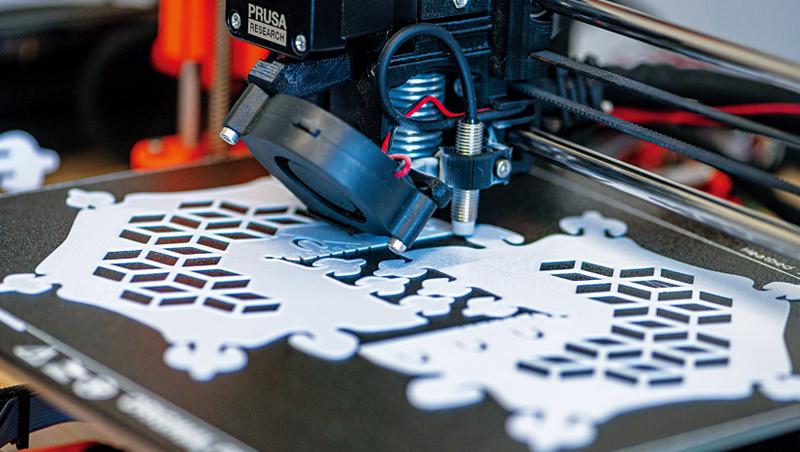 3D列印技術具備快速與彈性的特質,能夠在短時間大量製造,未來適合替重要零組件做備援。