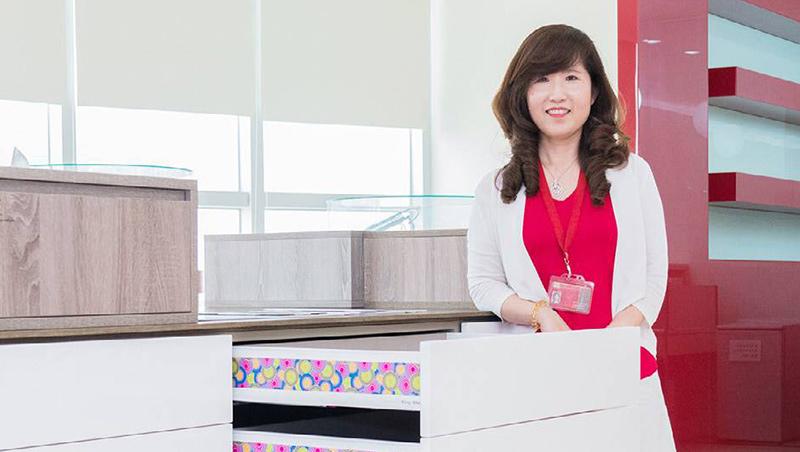 疫情下,川湖總經理林淑珍仍決定擴廠,以降低高階廚具製造成本,讓價格更具競爭力。