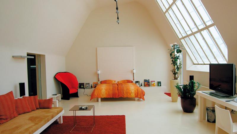 房間家具若能更彈性、自由搬移,便可瞬間轉換成辦公室或派對場地。