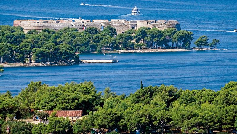 克羅埃西亞史賓尼克聖尼古拉炮台是威尼斯共和國重要海防堡壘。