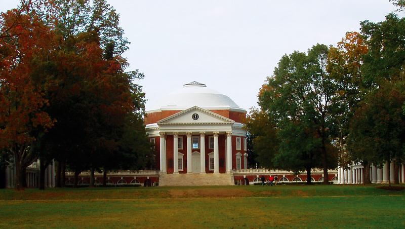 美國維吉尼亞大學校園規畫與建築影響無數所大學。