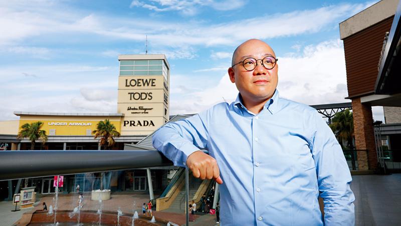 華泰名品城執行長陳炯福直言:「我就不信台灣做不出一個純正的outlet !」