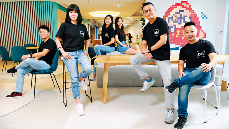 北富銀搶年輕人商機,從改變辦公室做起,讓30歲左右的員工,宛如置身在新創公司上班。