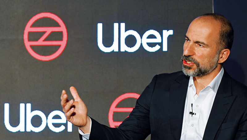 共乘巨頭Uber在疫情間出現兩樣業務、兩樣情的狀況,沒人叫車,卻一堆人需要外送,因此Uber執行長近期積極拓展外送事業。