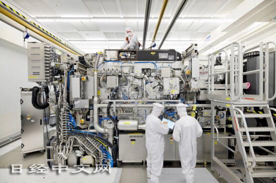 荷蘭艾司摩爾(ASML)的極紫外光刻設備